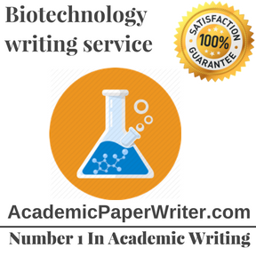 Biotechnology writing service