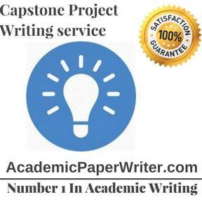Capstone Project Writing service