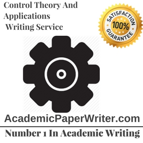 Control Theory And Applications Writing Service