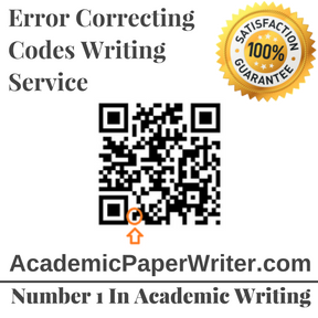 Error Correcting Codes Writing Service