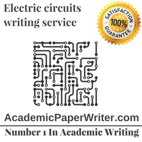 Electric circuits writing service