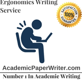 Ergonomics Writing Service