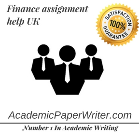 Finance Assignment Help - Help with Finance Assignment from #1 Expert