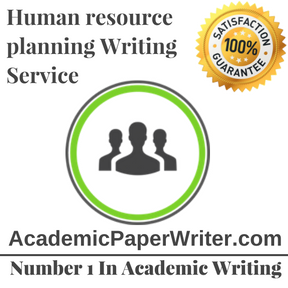 Human resource planning Writing Service