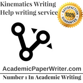 Kinematics Writing Help writing service