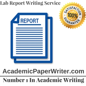 Lab Report Writing Service
