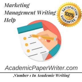 Marketing Management Writing Help