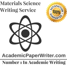 Materials Science Writing Service