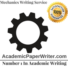 Mechanics Writing Service