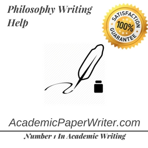 Philosophy Writing Help