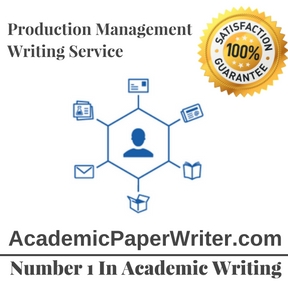 Production Management Writing Service