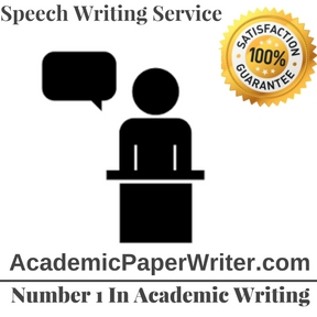 Speech write services about family