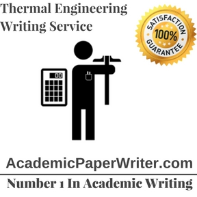 Thermal Engineering Writing Service