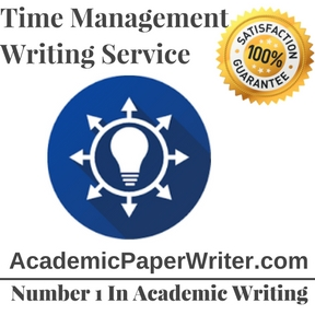 Time management Writing Service