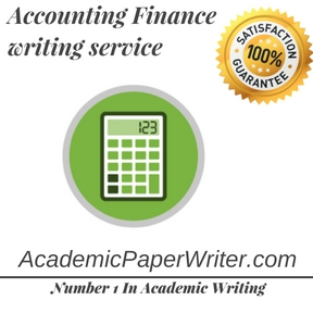 Accounting Finance writing service