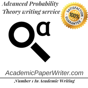 Advanced Probability Theory writing service