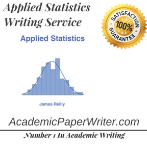 Applied Statistics Writing Service