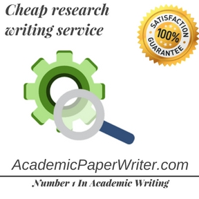 Cheap research writing service