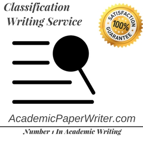 Classification Writing Service