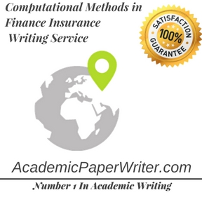 Computational Methods in Finance Insurance Writing Service