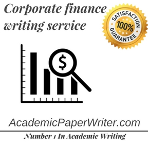 Corporate finance writing service