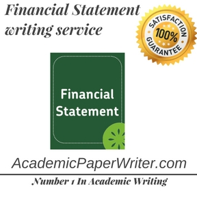 Financial Statement writing service