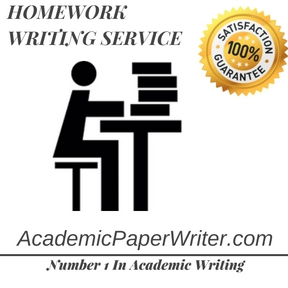 HOMEWORK WRITING SERVICE