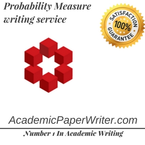 Probability Measure writing service