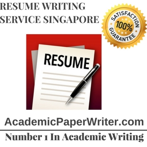 Resume Writing Service Singapore