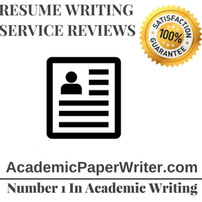 Resume writing service Reviews