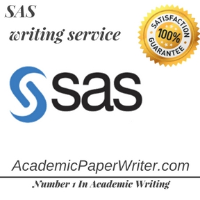 SAS writing service