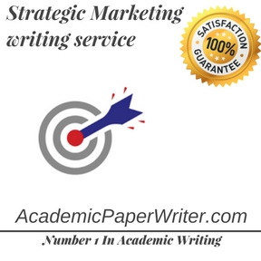 Strategic Marketing writing service