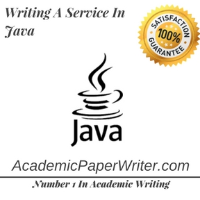 Writing A Service In Java