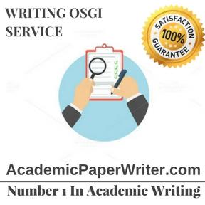 Writing Osgi Service