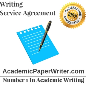 Writing Service Agreement