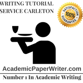 Writing Tutorial Service Carleton