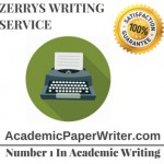Zerry's writing service