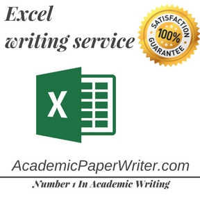 Excel writing service