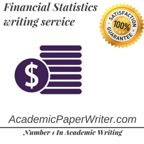 Financial Statistics writing service
