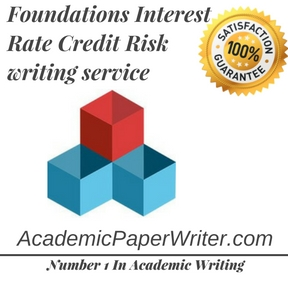 Foundations Interest Rate Credit Risk writing service
